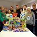 Festive fun and giving back.